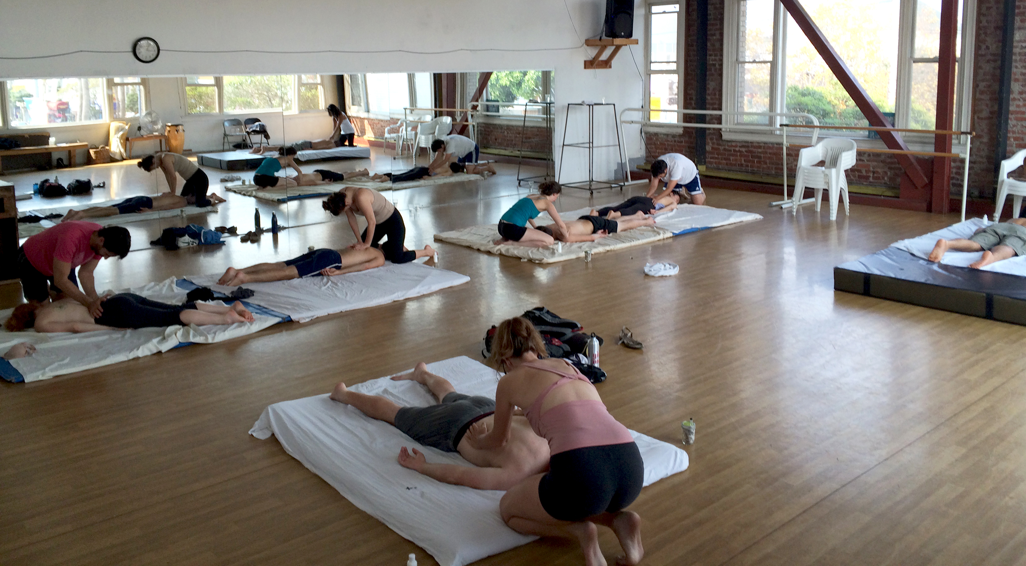About Group Massage Classes